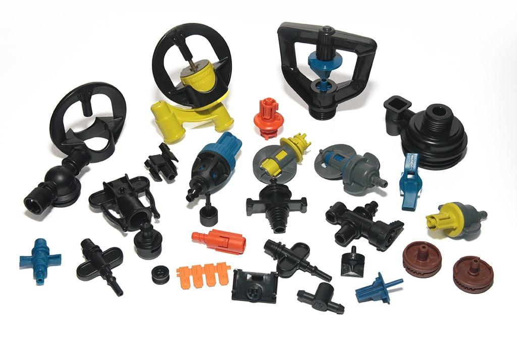 Amostras plásticas, Irrigation Parts