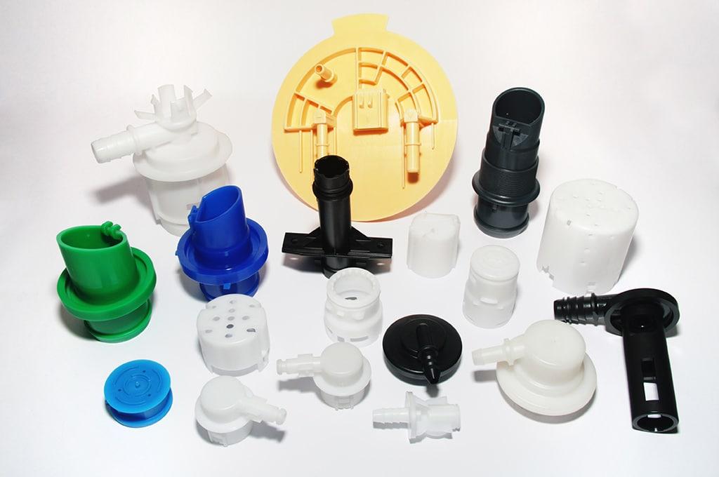 Amostras plásticas, Carburant Parts