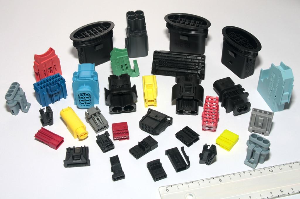 Amostras plásticas, Electric Connections