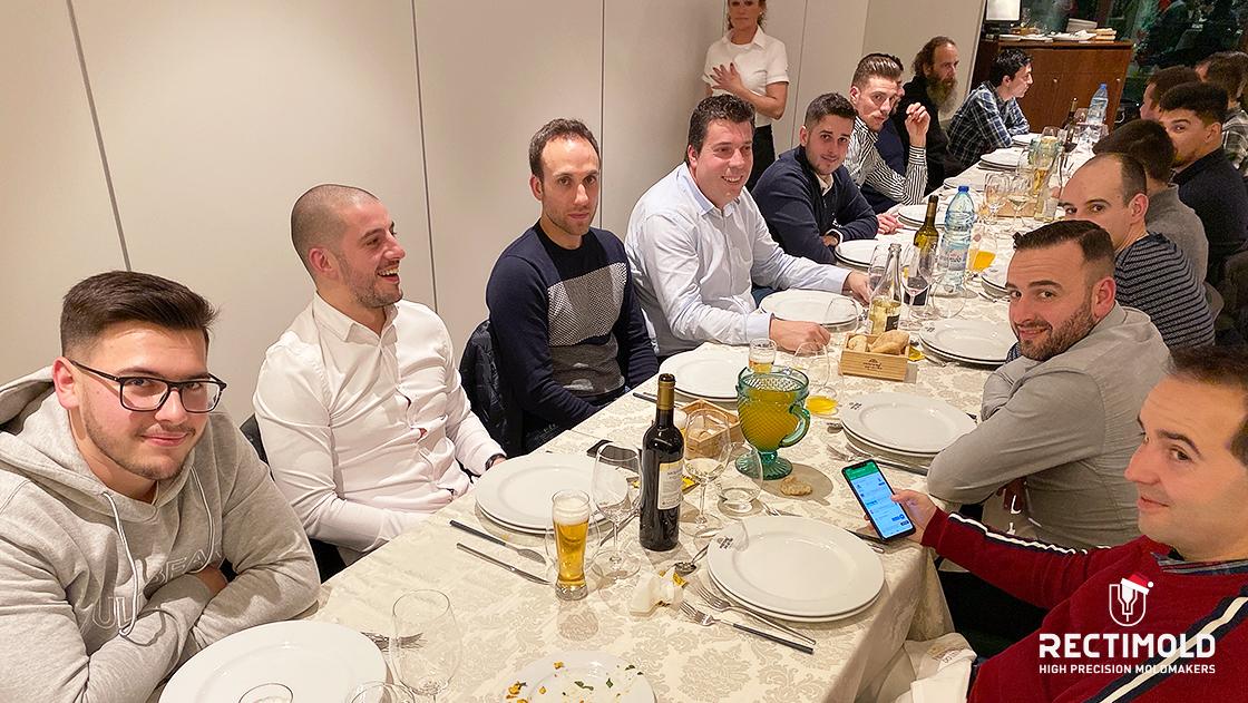 Rectimold Christmas dinner 2019
